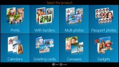 Software DiLand Kiosk - seleccione el producto